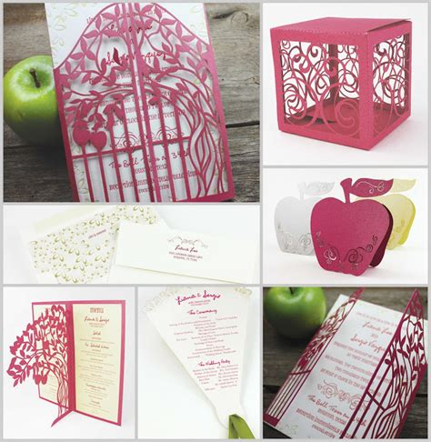 top 5 autumn fall wedding invitation ideas