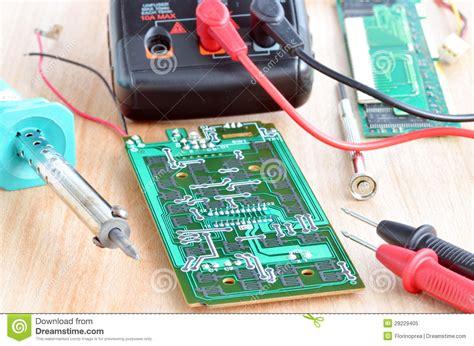 Test Repair Job Electronic Printed Circuit Boar Royalty