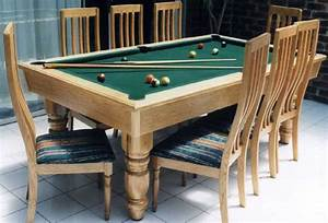 Dining table pool table dining table combo for Pool table dining room table