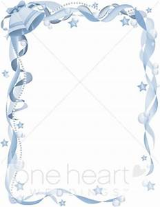 Blue Wedding Bells Border Wedding Bell Borders
