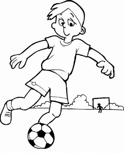 Coloring Pages Boys Sheets Games Football Cool