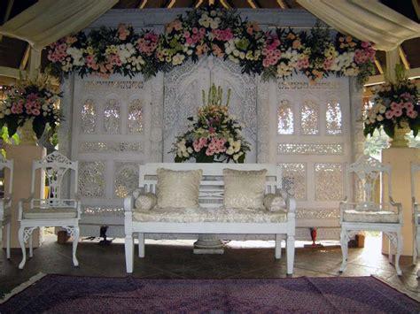 dekorasi akad nikah sederhana  rumah