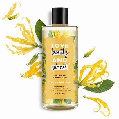 Gel Planet Shower Tropical Oil Coconut Ylang
