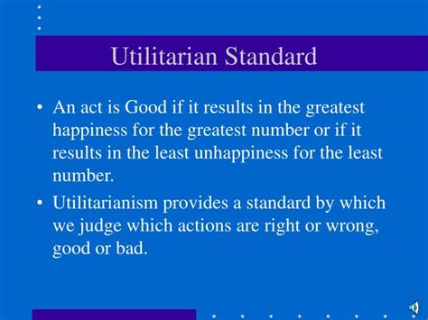 Ppt  Utilitarian Theory Of Ethics Powerpoint Presentation