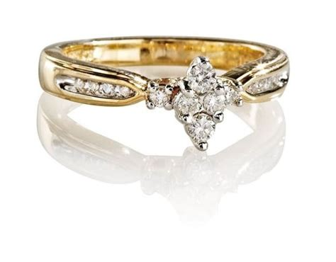 Keepsake Lovelight 1/4 Carat T.w. Diamond 10kt Yellow Gold