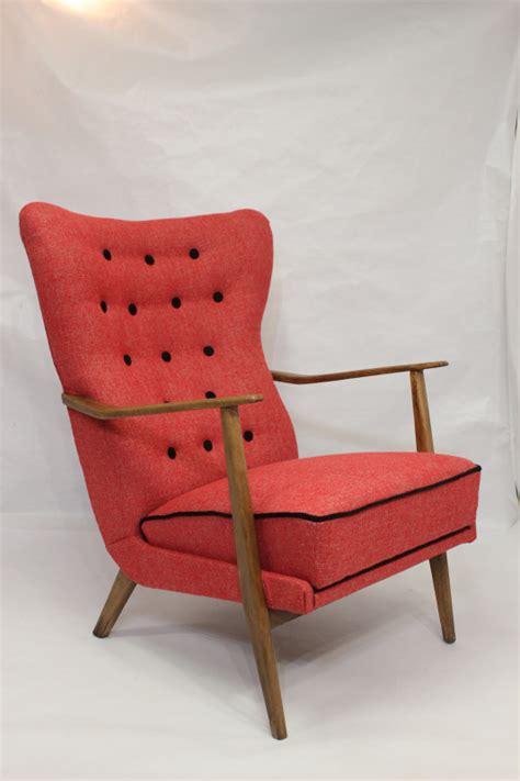 fauteuil wing chair scandinave 233 es 50 60 les vieilles choses