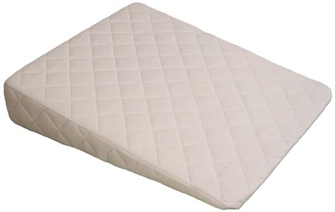 the wedge pillow acid reflux wedge 383 thread count padded cover