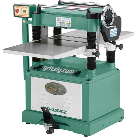 planer  spiral cutterhead grizzly industrial