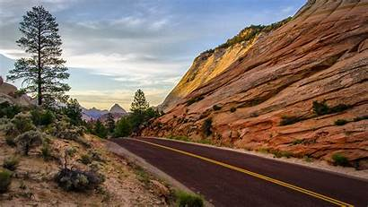 Usa Landscape Road Rock Desktop Wallpapers Wallup