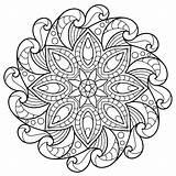 Coloring Mandala Pages Patterns Uploaded User Stencils Lynda sketch template