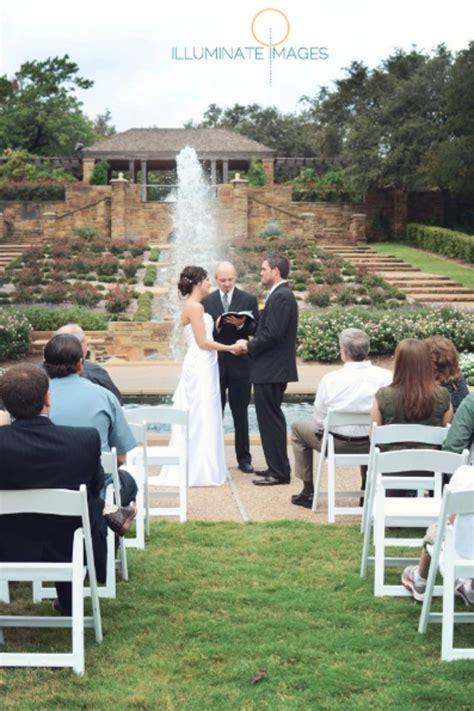fort worth botanic garden weddings  prices