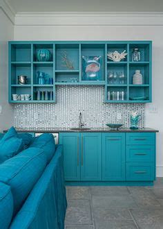 turquoise cabinets images small kitchens