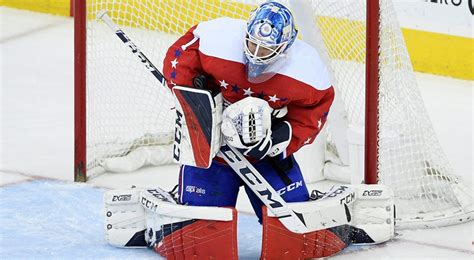 Capitals Re-sign Backup Goalie Pheonix Copley To 3-year