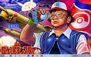 Kim Jong Il Pokemon Master