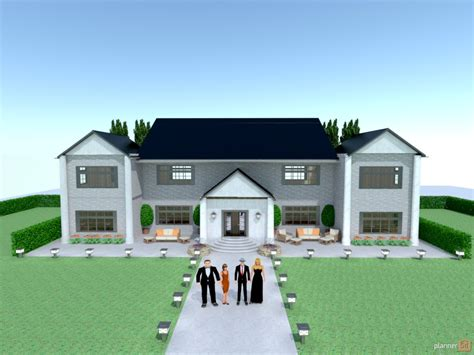 party mansion house ideas planner