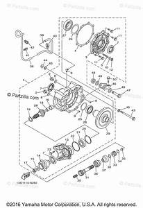 Yamaha Side By Side 2014 Oem Parts Diagram For Drive Shaft