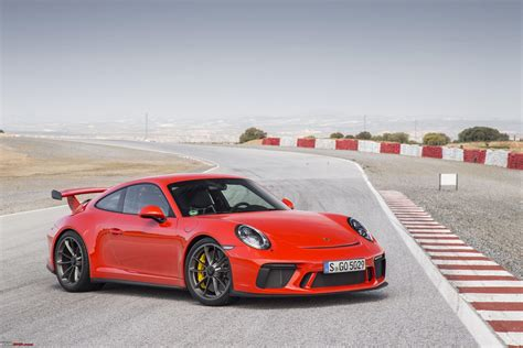 porsche  gt launched  india  rs  crore team bhp