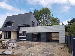 Ossature Bois Maison : ossature bois upstructures caen ~ Melissatoandfro.com Idées de Décoration
