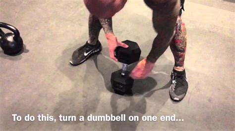 kettlebell dumbbell swing