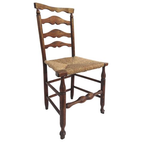 lancashire ladder back chair rush seat from blacktulip on