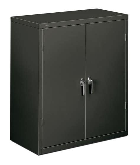 metal storage cabinets hon 42 inch metal storage cabinet