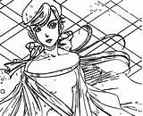 Anastasia Coloring Wecoloringpage Elle Sheets sketch template