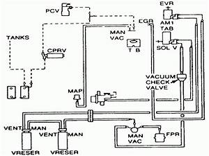 1986 Ford Ranger Vacuum Line Diagram