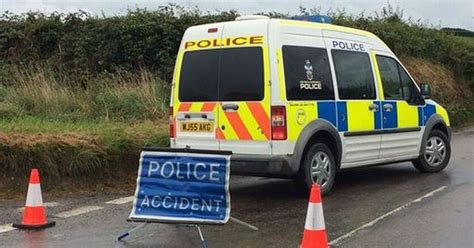 A386 Closed After Crash Involving Lorry And Car