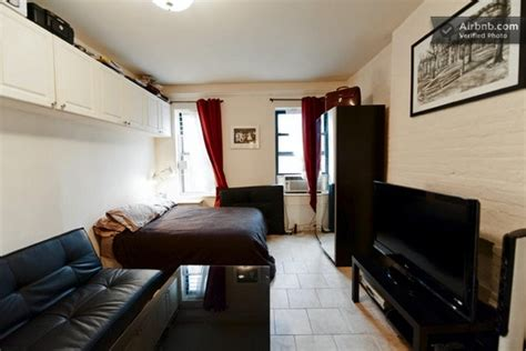 tiny studio apartment  nyc    hotel   stay