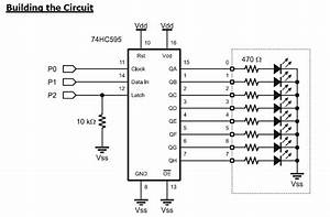 74hc595 Serial Parallel