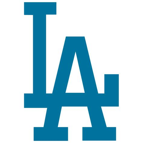 la dodgers logos