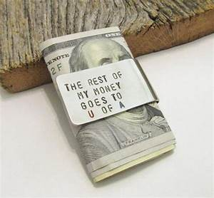 Money Clip Dad from Daughter Fathers Day Money Clip Credit ...