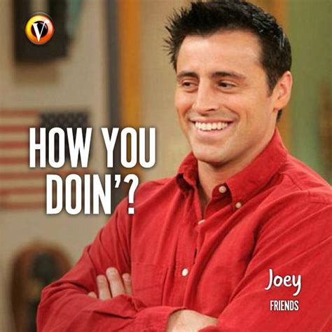 Joey Meme How You Doin - joey tribbiani matt leblanc in friends quot how you doin quote superguide seriequotes