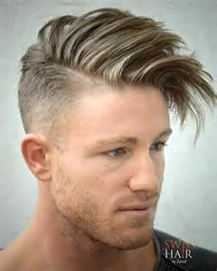 Short On Sides Long On Top Hairstyles for Men