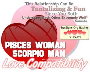Scorpio Man and Pisces Woman
