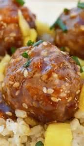 Pineapple Hawaiian Meatballs Recipe