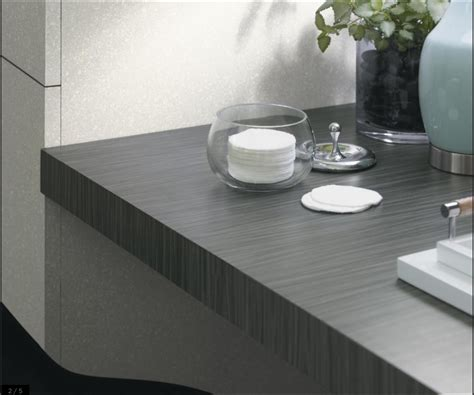 formica countertop choice  graphite twill house