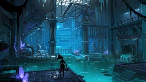 darksiders  video games digital art artwork sewers