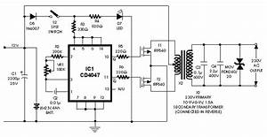 Simple Inverter Circuit 100w With Fet Irf540 Circuit