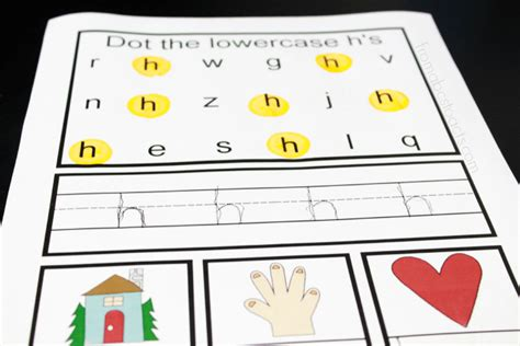 preschool alphabet book lowercase letter h from abcs to 930 | Letter H Activities for Preschoolers
