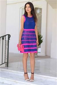 Blue Nanette Lepore Dresses Hot Pink Rebecca Minkoff Bags