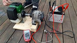 Diy How To Make Weedeater 12v Generator New Project