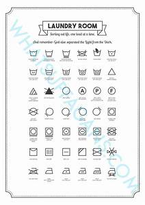 laundry cheat sheets 3 free printables for your laundry room With free printable laundry labels