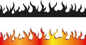 Fireplace Der Clip - flamme rand stock abbildung illustration hei 223 hitze