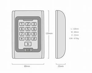 Keypad Access Control S100em