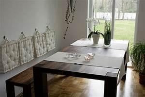 Küchentisch Mit Bank : sitzbank design k chentisch ~ Pilothousefishingboats.com Haus und Dekorationen