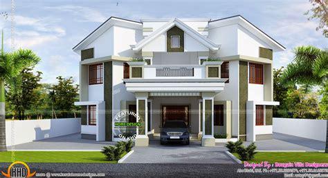 contemporary kerala style house