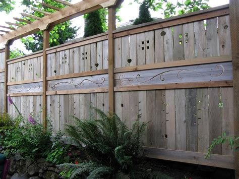 awesome fence designs  ideas