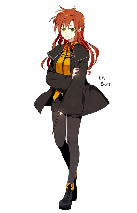 lily evans harry potter zerochan anime image board