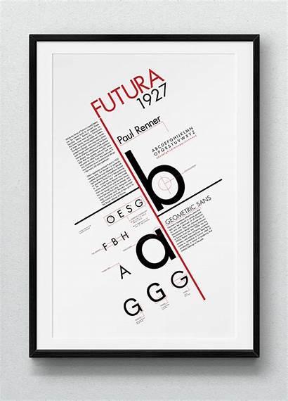 Type Specimen Posters Poster Typography Typographic Behance